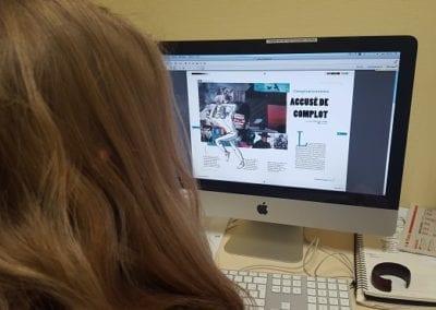Journee a l'Institut Pratique du Journalisme (IPJ)