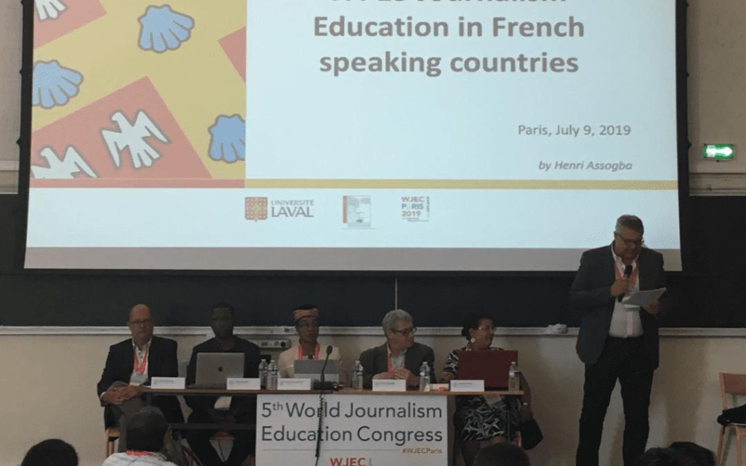 Le Réseau Théophraste était présent au « 5th World Journalism Education Congress » du 8 au 12 juillet 2019